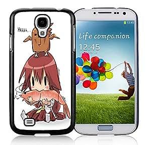 Fashion Custom Designed Big Shrimp Samsung Galaxy S4 I9500 Black Phone Case CR-069