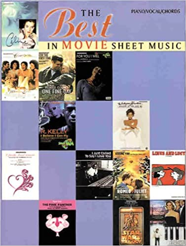 The Best in Movie Sheet Music: Piano/Vocal/Chords (The Best