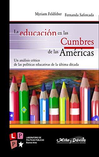 La educación en las cumbres de las Américas: Un análisis crítico de las políticas educativas