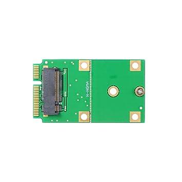 Festnight M.2 NGFF SSD a mSATA SSD Converter Card Conector ...