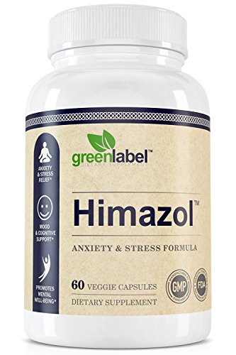 Himazol, Anxiety Relief And Stress Supplement. 60 Capsules. by GREEN LABEL DIETARY SUPPLEMENT (Image #3)