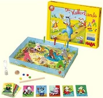 HABA 4206 Die Kullerbande - Juego de Mesa [Importado de Alemania]: Amazon.es: Juguetes y juegos