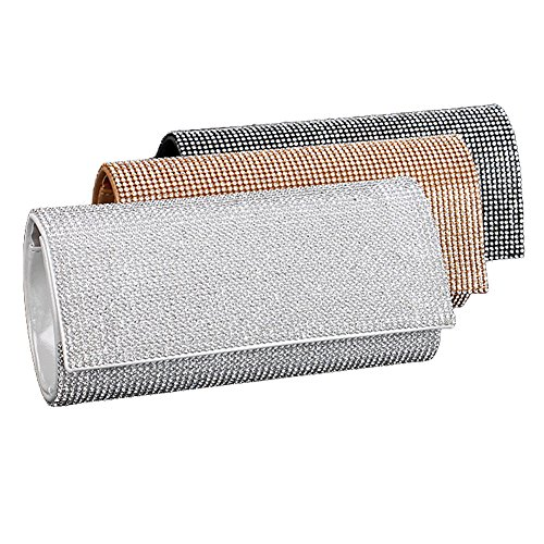 color Pochette clutch UNYU Multi pour evening Silver femme U81zwzYq