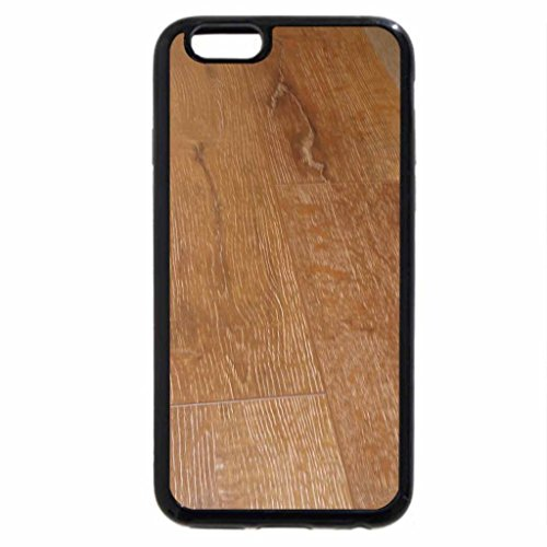iPhone 6S Case, iPhone 6 Case (Black & White) - Country look wooden floor