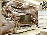 WH-PORP 3D European Style Precious Silk Diamond Living Room Tv Wallpaper for Walls 3 D Wall Papers Home Decor-128cmX100cm