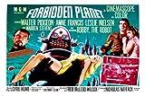 FORBIDDEN planet MOVIE poster leslie NEILSEN anne FRANCIS campy hot 24X36 (reproduction, not an original)