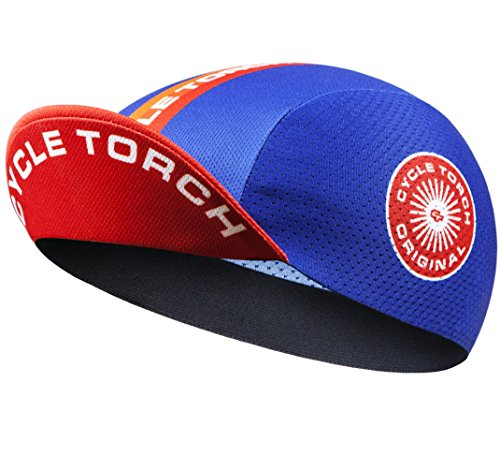 Cycle Torch Men's Cycling Cap, Polyester Breathable Helmet Liner Hat ()