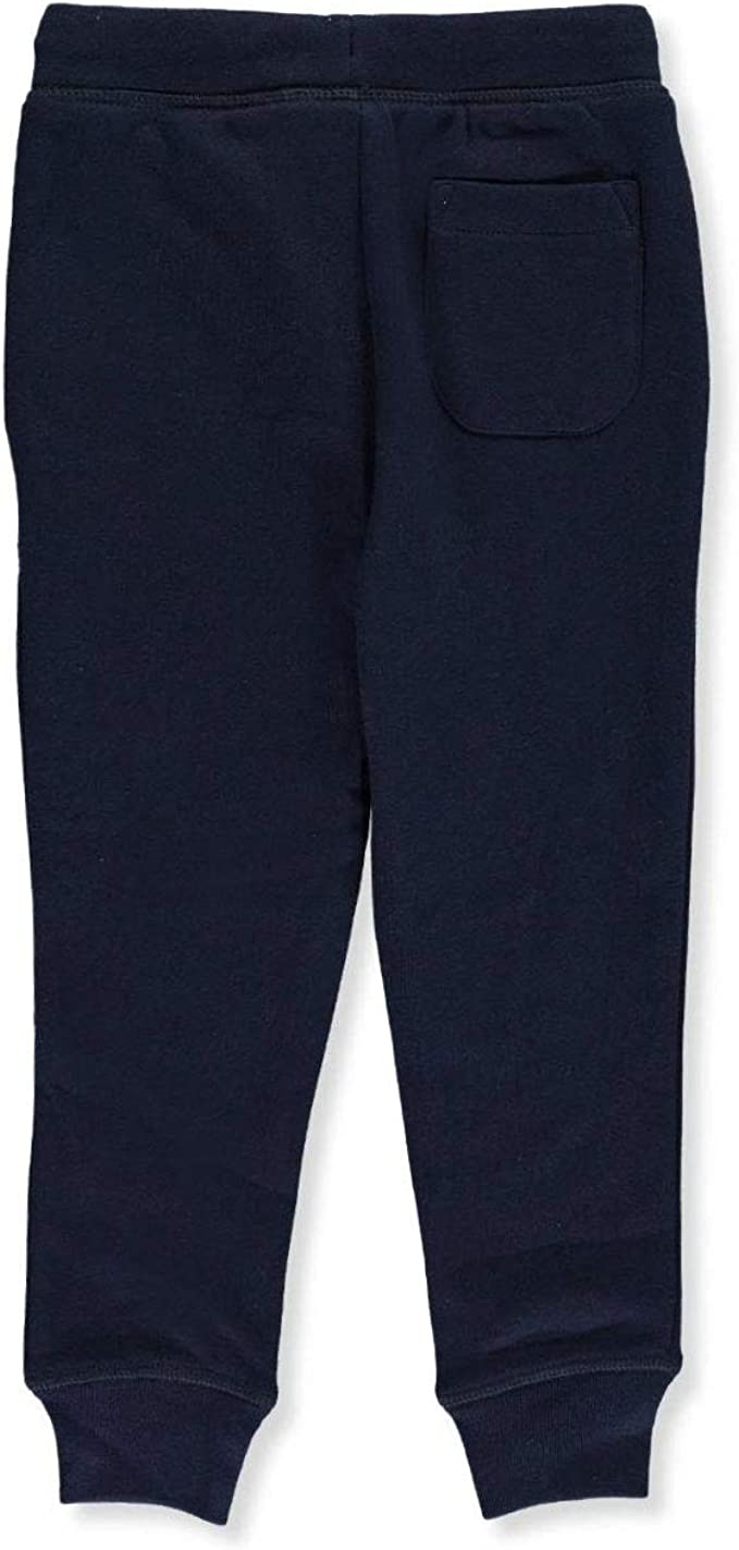 French Toast Little Girls Fleece Joggers Navy 6