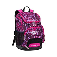 Speedo Large Teamster Backpack, Charged Pink, 35 L