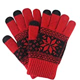 Eforstore Wool Knit Snowflake Design Winter Touch Gloves,iPad Review and Comparison