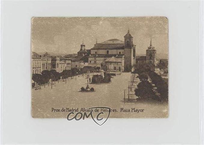 Amazon.com: Prov. De Madrid. Alcala de Henares, Plaza Mayor ...