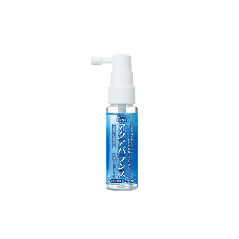 Lion Aqua Balance Medicated Mouthspray 30ml 1 Count