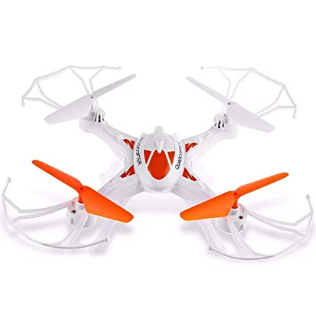 SUPER TOY Professional Drone 360° Flip 2.4G Quadcopter Rc Helicopter Toy Without Camera ( Multicolor ) Remote Controlled Drones at amazon