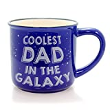 "Best Enesco Dad Mugs - Our Name is Mud ""Coolest Dad"" Space Stoneware Review"