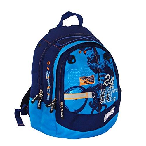 Azul Casual Biker Daypack Blue 42 Spirit Spirit 20 cm liters PwEWAqnz77