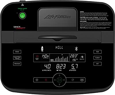 Life Fitness T5TC-XX00-0104 T5 Treadmill with Track Connect Console