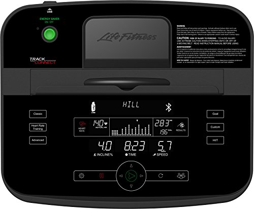 Life Fitness T5TC-XX00-0104 T5 Treadmill with Track Connect Console by Life Fitness (Image #2)