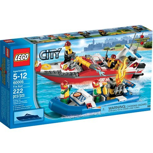 LEGO City Fire Boat Play Set