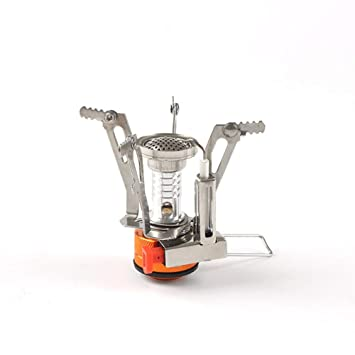 Amazon.com: ZMEETY - Mini quemador de cocina portátil y ...