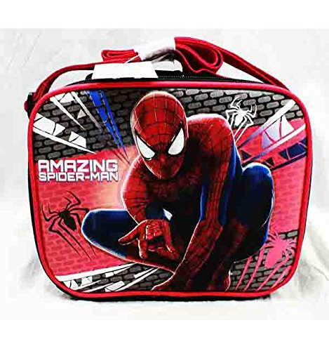 Boys Spiderman Insulated Lunch Box and Cup