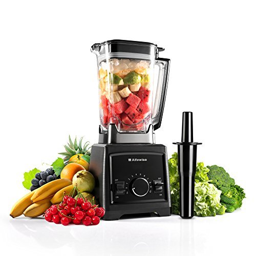 Blender for Shakes and Smoothies, Alfawise 1450W Professional Smoothie Blender, Variable Speed Controls Multi-Function Smoothie Maker/Mixer with BPA-Free ()