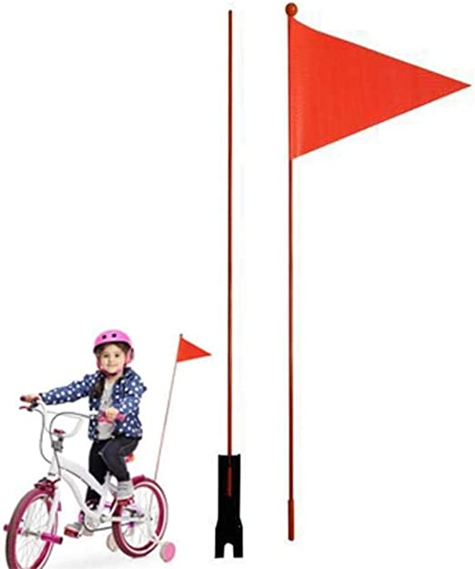 Wimpel Fahrrad Fahrradwimpel m Name Sicherheitswimpel Fahrradfahne Fahne Kinder