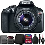 Canon EOS Rebel T6 18MP DSLR Camera with 18-55mm IS II Lens and Accessory Kit