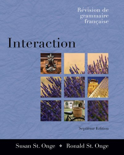 Interaction: Revision de grammaire française (with Audio CD) (Available Titles CengageNOW)