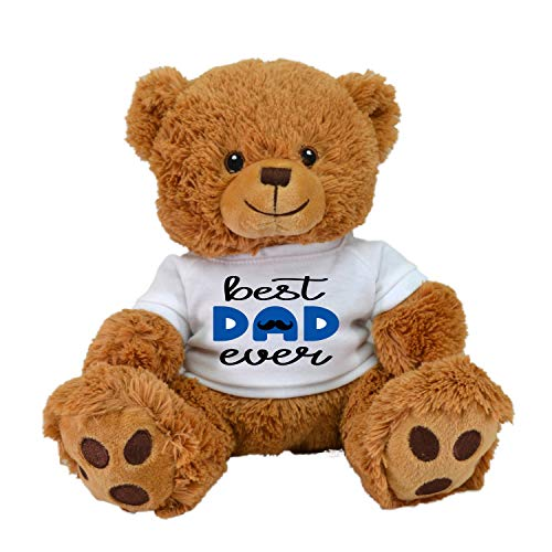 LOVE BEAR Limited Edition! Best DAD Ever Plush Toys Best for Fathers Day and Birthday by CustomizedbyBilgin (Best Dad Tan Brown) (The Best Dad Ever Game)