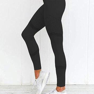 BLXMX Pantalones De Yoga Deporte Mujer Fitness Ajuste Ceñido ...