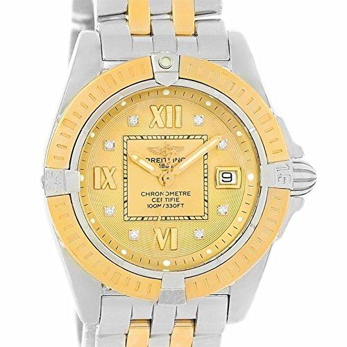 Breitling Windrider quartz womens Watch Quartz movement (Certified Pre-owned)