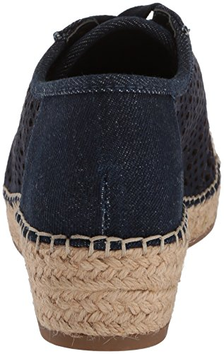 Bella Vita Womens Clementine Sneaker Denim Kid Suede