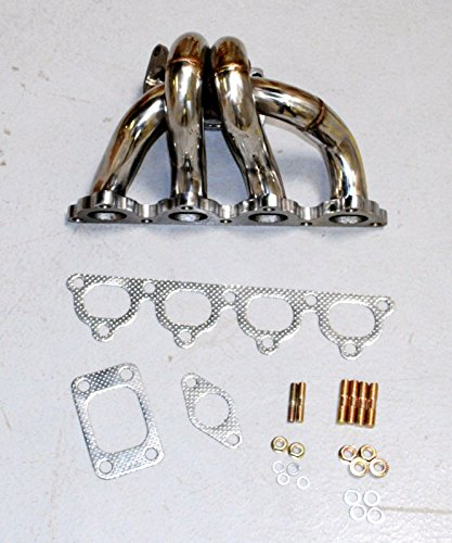 Tubular Turbo Manifold Stainless Steel fits88-91 Honda CRX /88-00 Civic D15/D16 by emusa (Image #8)