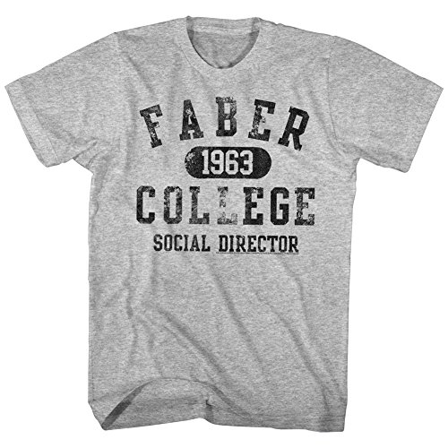 Animal House 1970S College Frat Movie Faber College Social Director Adult Tshirt