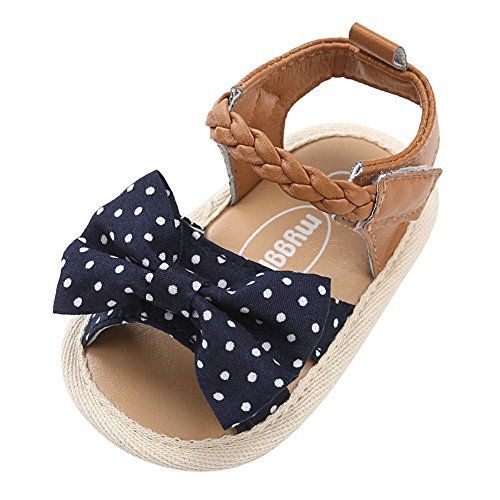 Weixinbuy Toddler Baby Girls Soft Sole Bowknot Summer Sandals Outdoors Shoes