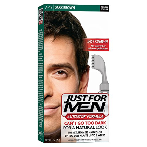 Just For Men AutoStop Men's Hair Color, Dark Brown (Hair Color Products compare prices)