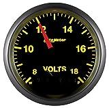 Auto Meter 5683 Elite Series Voltmeter Gauge