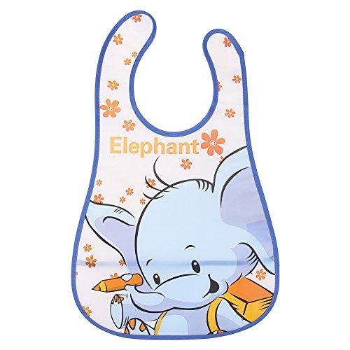 Baby Absorbent Back Cotton Towel Lion (Blue) - 3