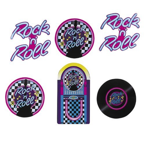 Rock N Roll Cutouts (6 pc set) ()