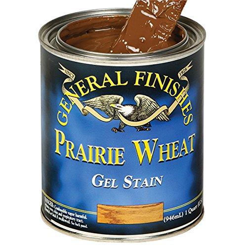 Based Gel Stain (Gallon, Prairie Wheat) (Gel Stain Finish)