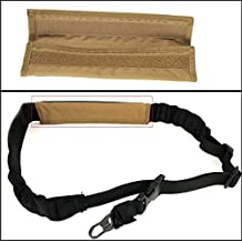Ultimate Arms Gear Tan Sling Mount Strap Shoulder Comfort Pad Padded For ATI German Sports Gun GSG5 GSG-5 MP5 Savage Axis 99