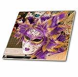 3dRose ct_82053_3 Carnival Party Masks, Venice, Italy-Eu16 Bba0176-Bill Bachmann-Ceramic Tile, 8-Inch