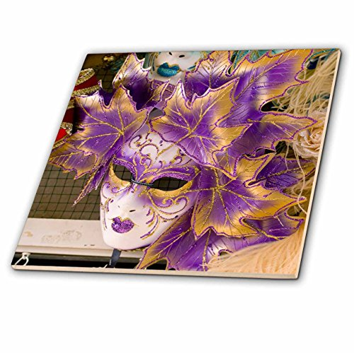 3dRose ct_82053_4 Carnival party masks, Venice, Italy-EU1...