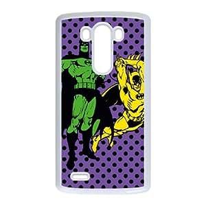 LG G3 Cell Phone Case White_Batman Quadruple Threat FY1456847
