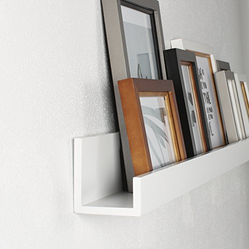 Kate And Laurel Levie Modern Floating Wall Shelf Picture