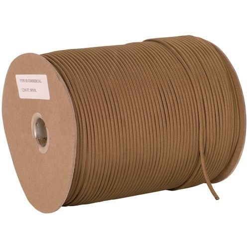 Fox Outdoor 82-435 1200 ft. Spool Nylon Paracord - Coyote by Fox Outdoor (Image #1)