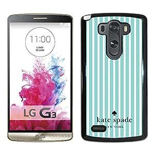 Kate Spade 25 Black New Design Phone Case For LG G3 Case
