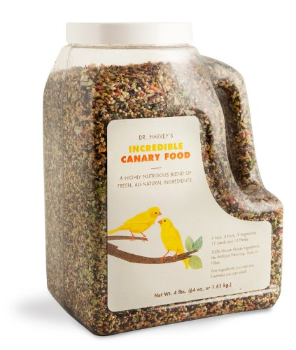 2 lb Dr. Harvey'S Incredible Canary Blend, Natural Food for Canaries, 2-Pound Bag