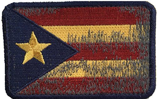 Patch Squad Men's Tactical Puerto Rico Flag Patch (Vintage) (Vintage Military Costumes)