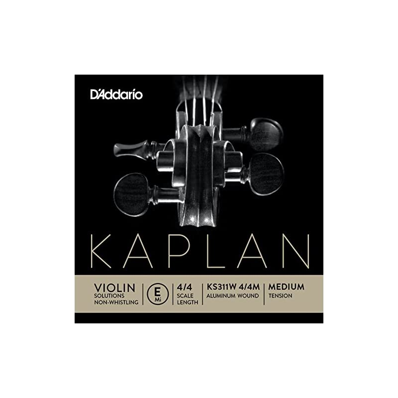 D'Addario Kaplan Non-Whistling Violin Al